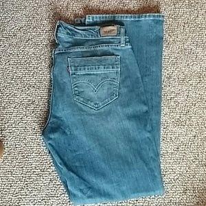 Levis 529 Curvy bootcut jeans size 12